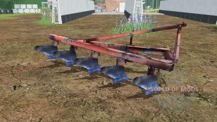 PLN 5-35 moderadamente color rojo para Farming Simulator 2015