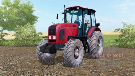 MTZ-Belarús 2022.3 color rojo brillante para Farming Simulator 2017