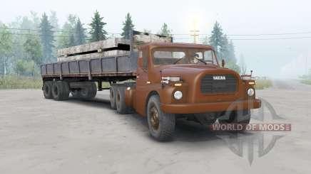 Tatra T148 6x6 v1.1 color de la cereza para Spin Tires