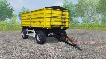 Wielton PRS-2-W14 safety yellow para Farming Simulator 2013