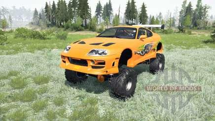 Toyota Supra Fast & Furious (JZA80) 2001 4x4 para MudRunner
