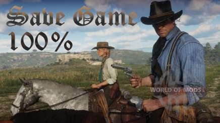 RDR 2 Guarde el 100 por ciento de sobres PS4 para RDR 2
