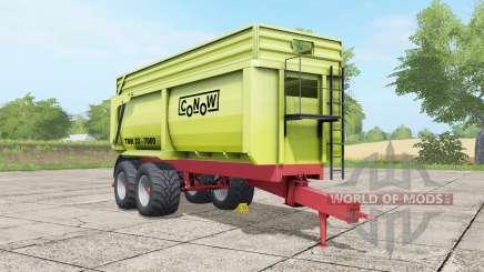 Conoⱳ TMK 22-7000 para Farming Simulator 2017