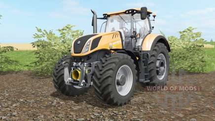 New Holland Ƭ7.290 y Ƭ7.315 para Farming Simulator 2017