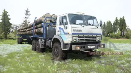 KamAZ-4310 camión para MudRunner
