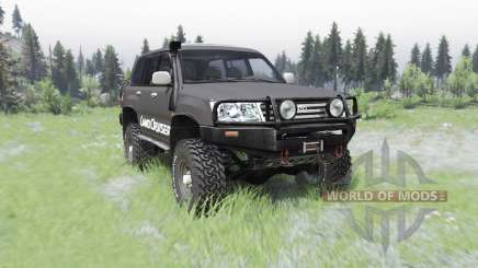 Toyota Land Cruiser 100 GX para Spin Tires