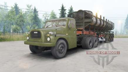 Tatra T148 6x6 v1.1 para Spin Tires