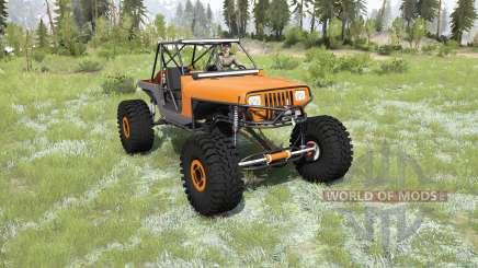 Jeep Wrangler 40OZ Juggy para MudRunner