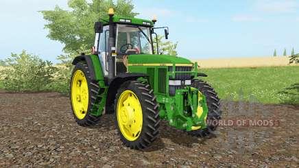 John Deere 7810 islámica greeɲ para Farming Simulator 2017
