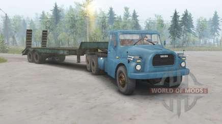 Tatra T148 6x6 v1.1 color azul para Spin Tires