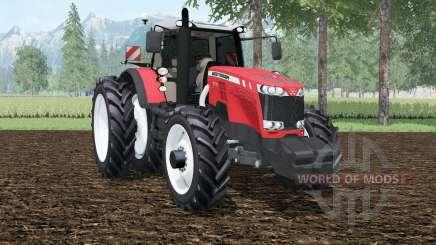 Massey Ferguson 8737 row crops para Farming Simulator 2015