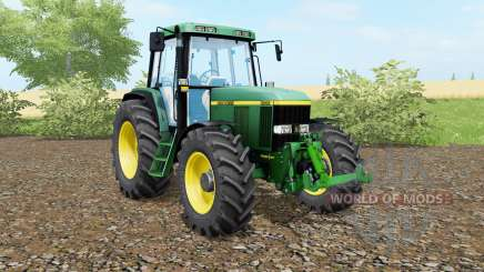John Deere 6810 animated steering para Farming Simulator 2017