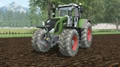 Fendt 828 Vario hippie green para Farming Simulator 2015