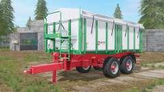 Kroger Agroliner TKD 302 athens gray para Farming Simulator 2017