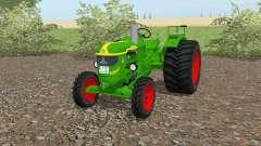 Deutz D 40 islámica greeꞑ para Farming Simulator 2017