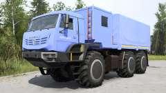KamAZ-6345 Ártico azul suave para MudRunner