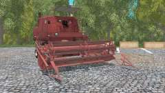 Bizon Super Z056 english red para Farming Simulator 2015