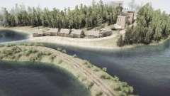 Fisherman's rice village para MudRunner