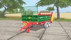 Warfama N218-2 spanish green para Farming Simulator 2017