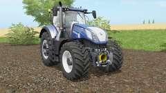 New Holland T7.290 y T7.315 Pesado Dutỿ para Farming Simulator 2017