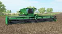 John Deere S690i pantone greeꞑ para Farming Simulator 2017
