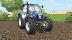 New Holland T6.140&T6.160 Blue Power para Farming Simulator 2017