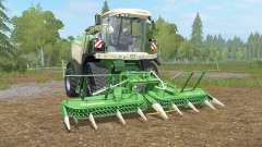 Krone BiG X 580 crawleᶉ para Farming Simulator 2017