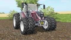 Fendt 716-724 Vario added dual wheels para Farming Simulator 2017
