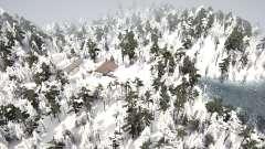 Dark Forest Snow para MudRunner