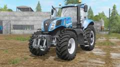New Holland T8.320〡T8.380〡T8.435 para Farming Simulator 2017