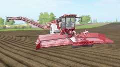 Holmer Terra Felis 2 english vermillion para Farming Simulator 2017