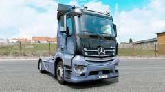 Mercedes-Benz Antos 1832 moonstone blue para Euro Truck Simulator 2