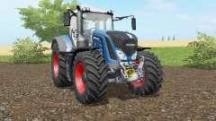 Fendt 930-939 Vario honolulu blue para Farming Simulator 2017