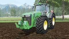 John Deere 8370R full cabine control para Farming Simulator 2015