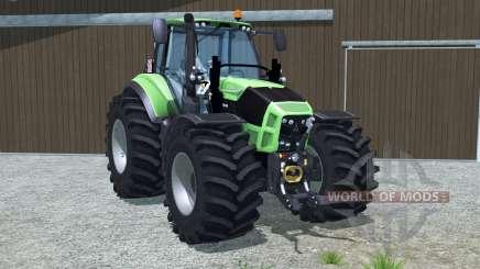 Deutz-Fahr 7250 TTV Agrotron wheel options para Farming Simulator 2013