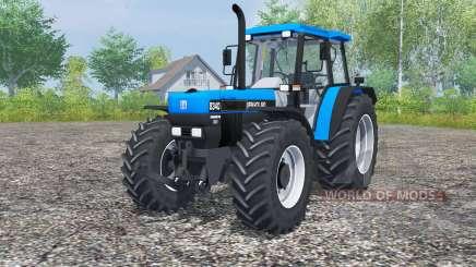 New Holland 8340 deep sky blue para Farming Simulator 2013