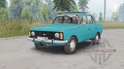 Moskvich-412ИЭ-028 para Spin Tires