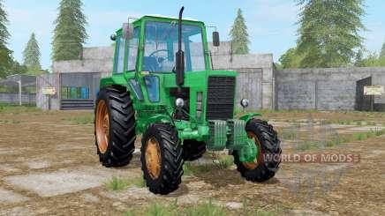 MTZ-82 Belarús verde para Farming Simulator 2017