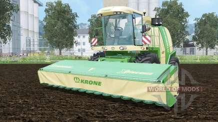 Krone BiG X 1100 pantone greeꞑ para Farming Simulator 2015