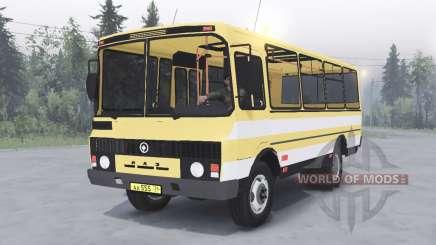 PAZ-3205 v1.2 de color amarillo para Spin Tires