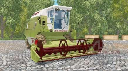 Claas Dominator 86 de oliva greeꞑ para Farming Simulator 2015