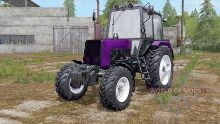 MTZ-Belarús 1025 de selección de color de color para Farming Simulator 2017