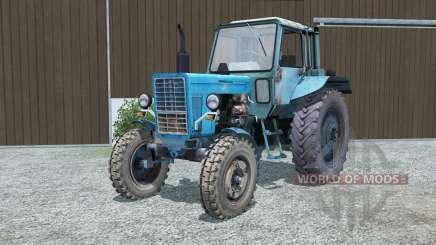 MTZ-80, Bielorrusia azul para Farming Simulator 2013