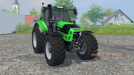 Deutz-Fahr 7250 TTV Agrotron vivid malachite para Farming Simulator 2013