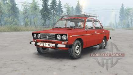 VAZ-2106 Lada para Spin Tires