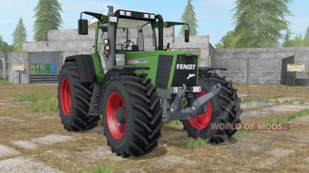 Fendt Favorit 926 Vario sea green para Farming Simulator 2017