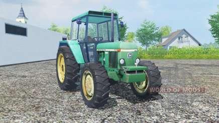 John Deere 3030 MoreRealistic para Farming Simulator 2013