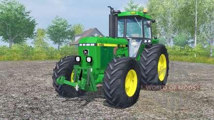John Deere 4455 pantone green para Farming Simulator 2013