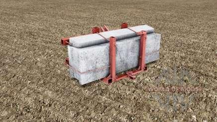 Casero contrapeso para Farming Simulator 2017