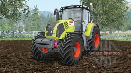 Claas Axion 850 extra weightᶊ para Farming Simulator 2015
